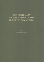 GS 23, N. van der Schraaf (Editor), The Centenary of the Netherlands Geodetic Commission